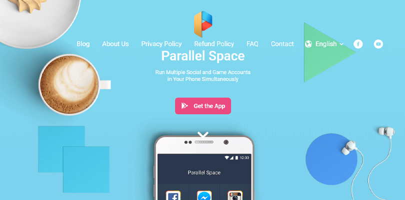 Parallel Space, une application mobile