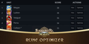 Rune Optimizer Summoners War