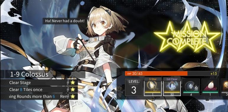 Alchemy Stars étape 1-9