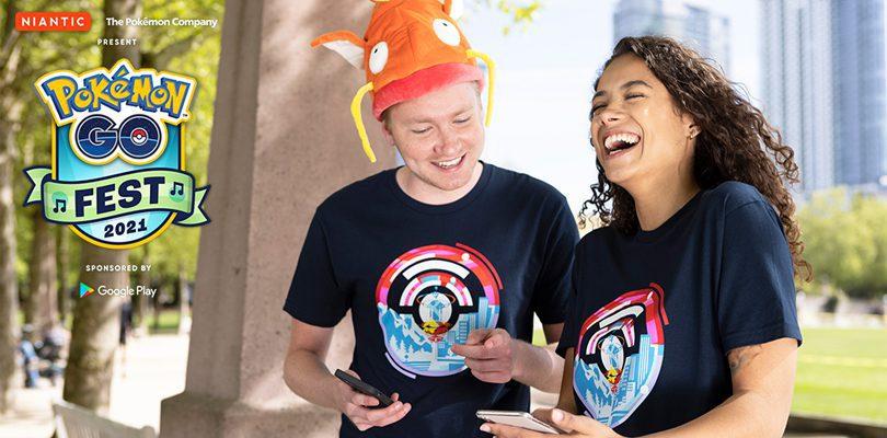 T-shirt Pokémon Go Fest 2021 merch