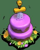 Gâteau Clashiversaire 9