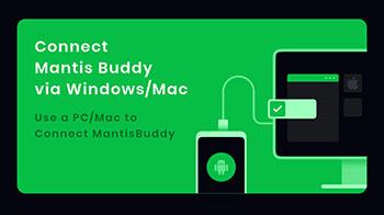 connecter Mantis gamepad via PC
