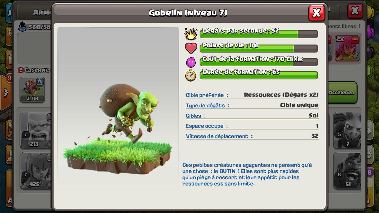 Gobelin Clash of Clans niveau 7