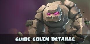 Golem Clash of Clans : le guide troupe détaillé