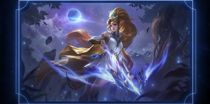 skin gratuit Moon Priest Miya anniversaire Mobile Legends