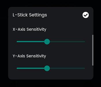 optimiser axes X et Y sur Mantis Engine