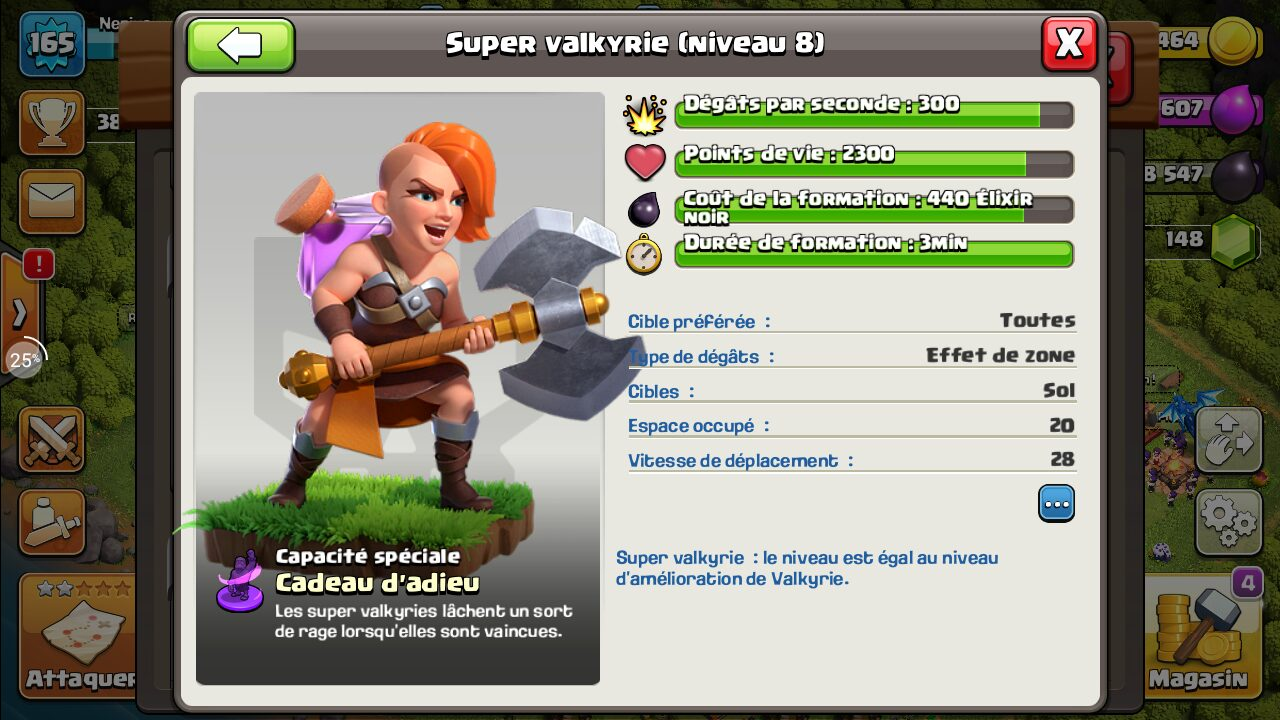 Super valkyrie Clash of Clans