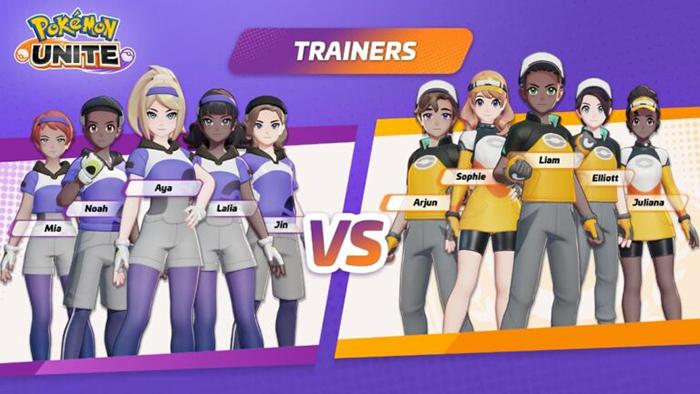 team Pokémon Unite