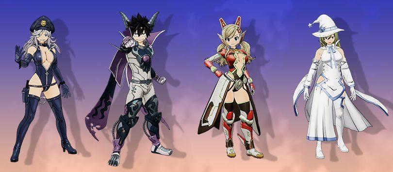 Costumes préinscriptions Edens Zero Pocket Galaxy