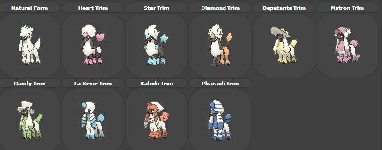 Les coupes de Couafarel Pokémon GO