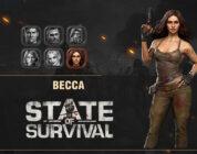 Becca State of Survival Hero Anniversary