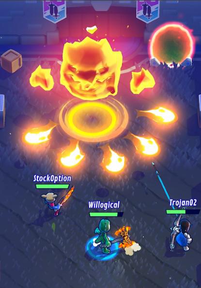 Screenshot Boss Knight's Edge