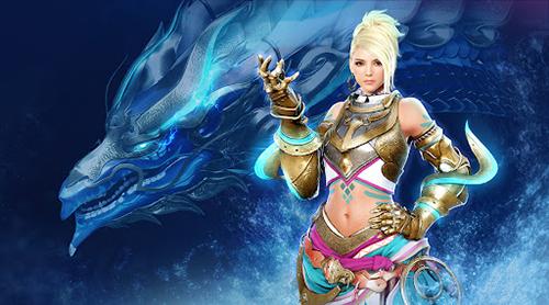 Bénédiction du dragon bleu classe Mystique Black Desert Mobile