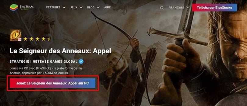 télécharger Le Seigneur des Anneaux : Appel aux Armes sur PC