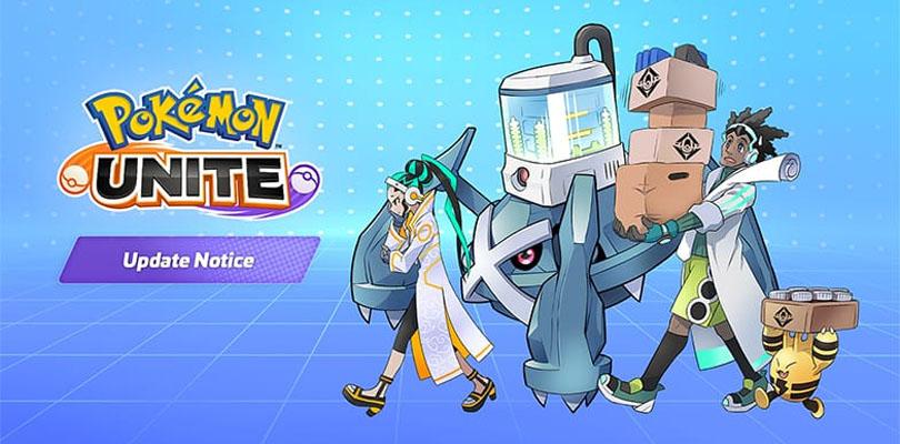 update notice Super Item Enhancers Pokémon Unite