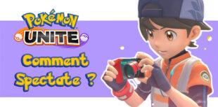 Comment regarder une partie Pokémon Unite ?