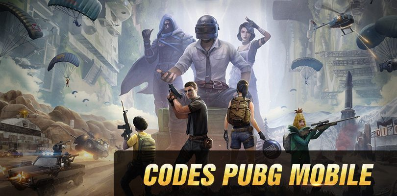 Redeem codes PUBG Mobile valides